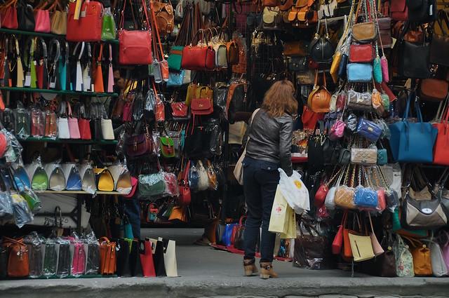 The Street Scene (Loggia del Mercato Nuovo)
