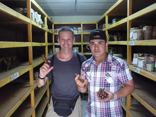 Kurt Buying Cigars