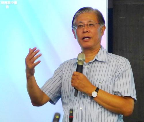 台北大學自然資源與環境管理研究所所長李堅明。攝影:陳文姿。