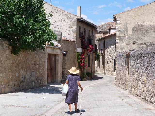 Calle en Pedraza (Segovia)