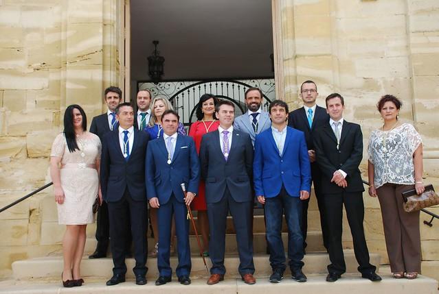 Corparación Municipal salida de las elecciones de mayo de 2015