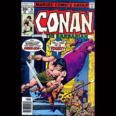 Always like Gil Kane's #Conan covers. #comics