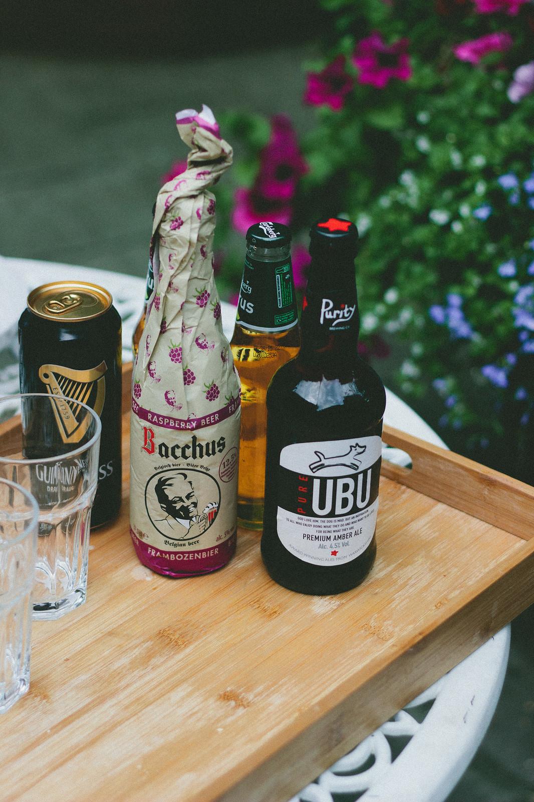 {a beer tasting} via chevrons & éclairs
