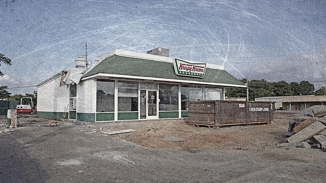 Krispy Kreme Doughnut Shop | Closed!