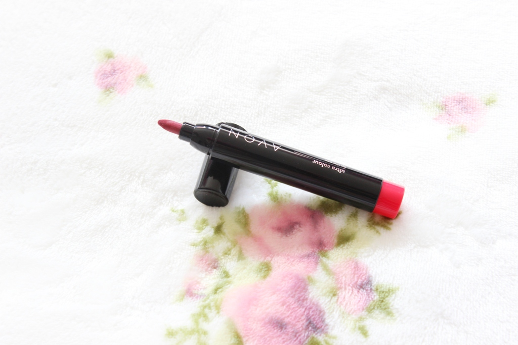 Avon Ultra Colour Lip Tint Pen in Raspberry