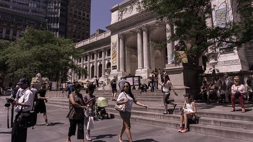 New York Public Library at 42nd Street, Midtown, Manhattan