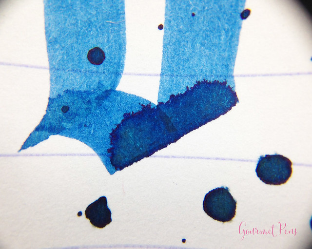 Ink Shot Review Montblanc Leo Tolstoy Sky Blue Ink @AppelboomLaren (14)