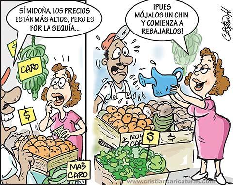 Precios y sequía