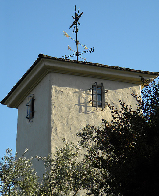 Weather vane at a California winery