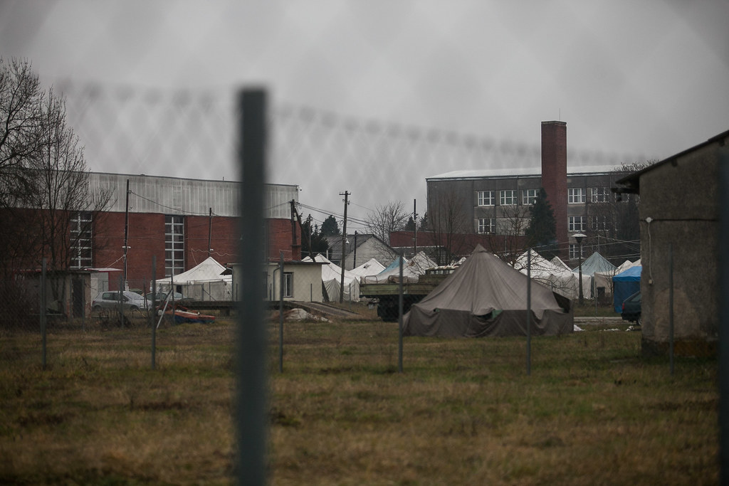 20161215 Bicske Körmend menedékkérők helyzete