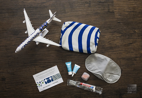 Finnair Marimekko Business Class Amenity Kit