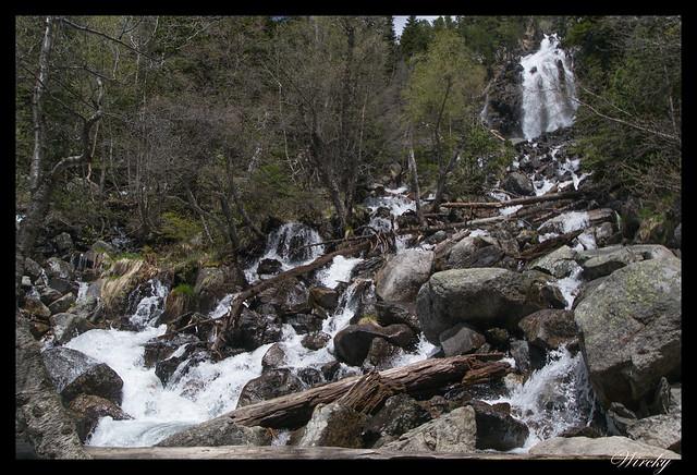 Fotografías de cascada de la Ratera en Pirineos