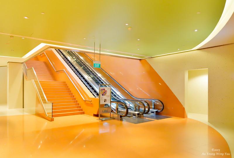 Marina Underground Link - Escalator 1