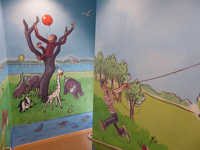 children's room, Main Library, Cambridge Public Library, MA