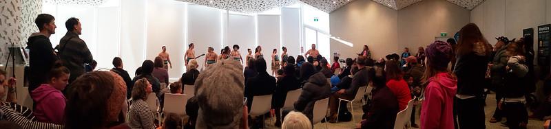 Te Pao a Tahu kapa haka group in performance