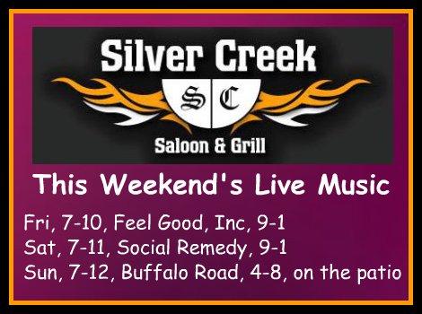 Silver Creek 7-10 thru 7-12-15