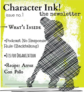 Character Ink Newsletter no. 1