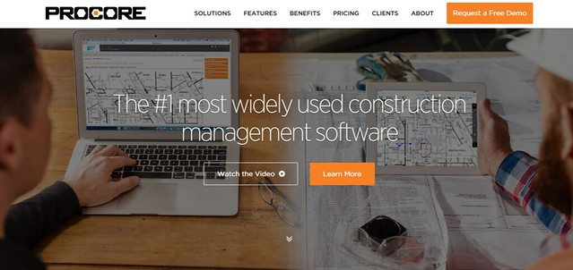 Construction Project Management Software by Procore
