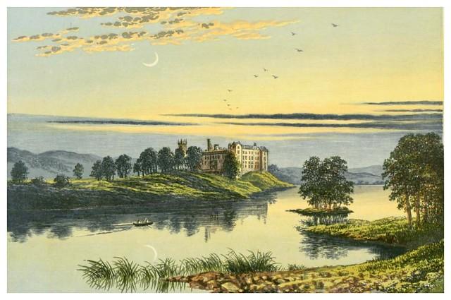 003-Lago Linligtgow-Scottish loch scenery-1882-A.F. Lydon