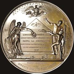 9-01-R Lincoln medal