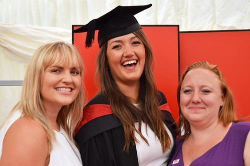 Caitlin Whytock, Kathryn Phillips and Gemma Burdge