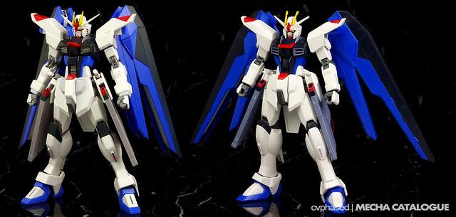Freedom Gundam - HGCE v ROBOT Damashii