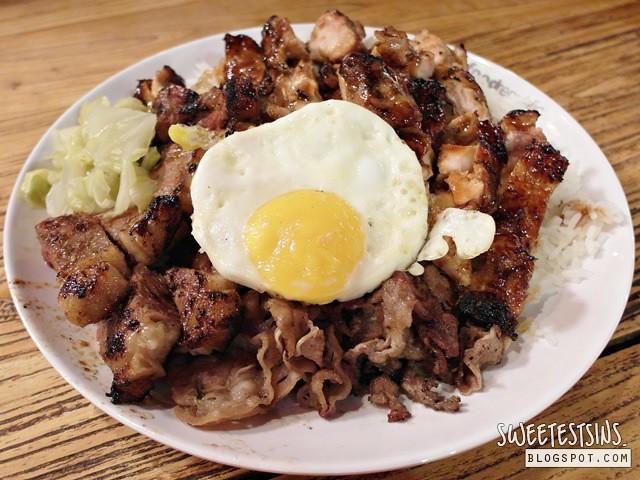 sumibi big rice beef steak sumibi yakitori sumibi beef