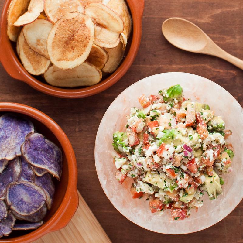 Avocado Feta Salsa - Natural Comfort Kitchen