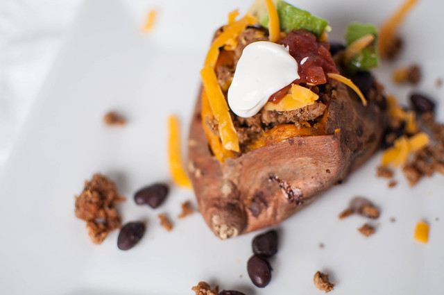 Taco Stuffed Sweet Potatoes 5