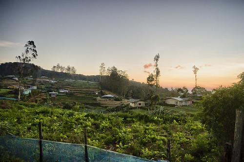 hdr srilanka pattipola railhike sunrise