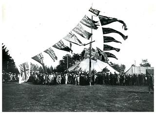 Greeting for Prince of Wales, Rotorua, Royal Tour 1920