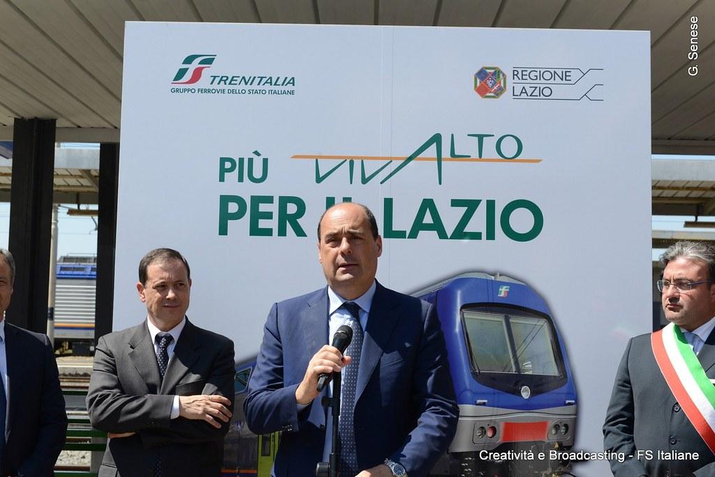 Nicola Zingaretti Presidente Regione Lazio