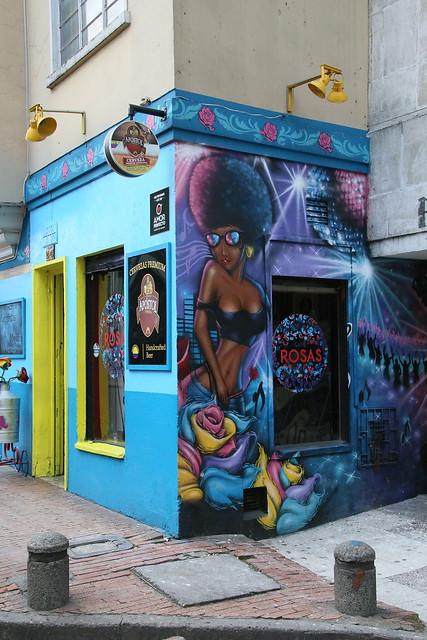 Rosas.  Bogota, Colombia.