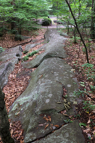 park state pennsylvania pothole bedrock geologic archbald