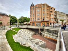 Plovdiv, un stade sous la ville