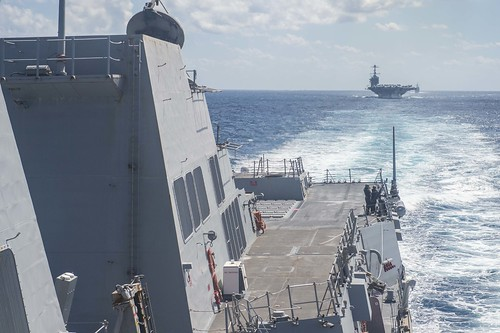 George Washington Carrier Strike Group Kicks Off Talisman Sabre 15