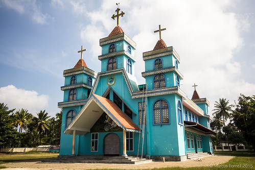 St.George Jacobite Simhasana Cathedral in Pulpally, Kerala