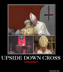 Upside down cross??
