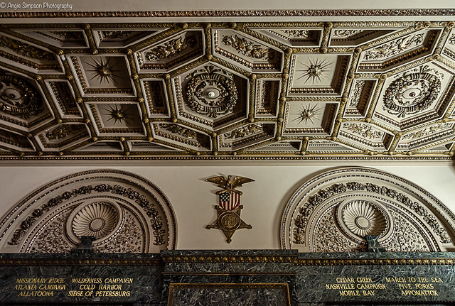 eagle flag ceiling (1 of 1)