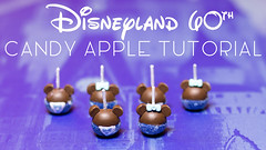 Disneyland 60th Candy Apple Tutorial