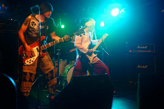 SPUTNIK KOMBINAT live at ShowBoat, Tokyo, 26 Jul 2015. 071