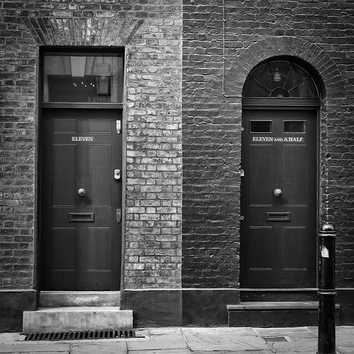 Peculiar door numbers