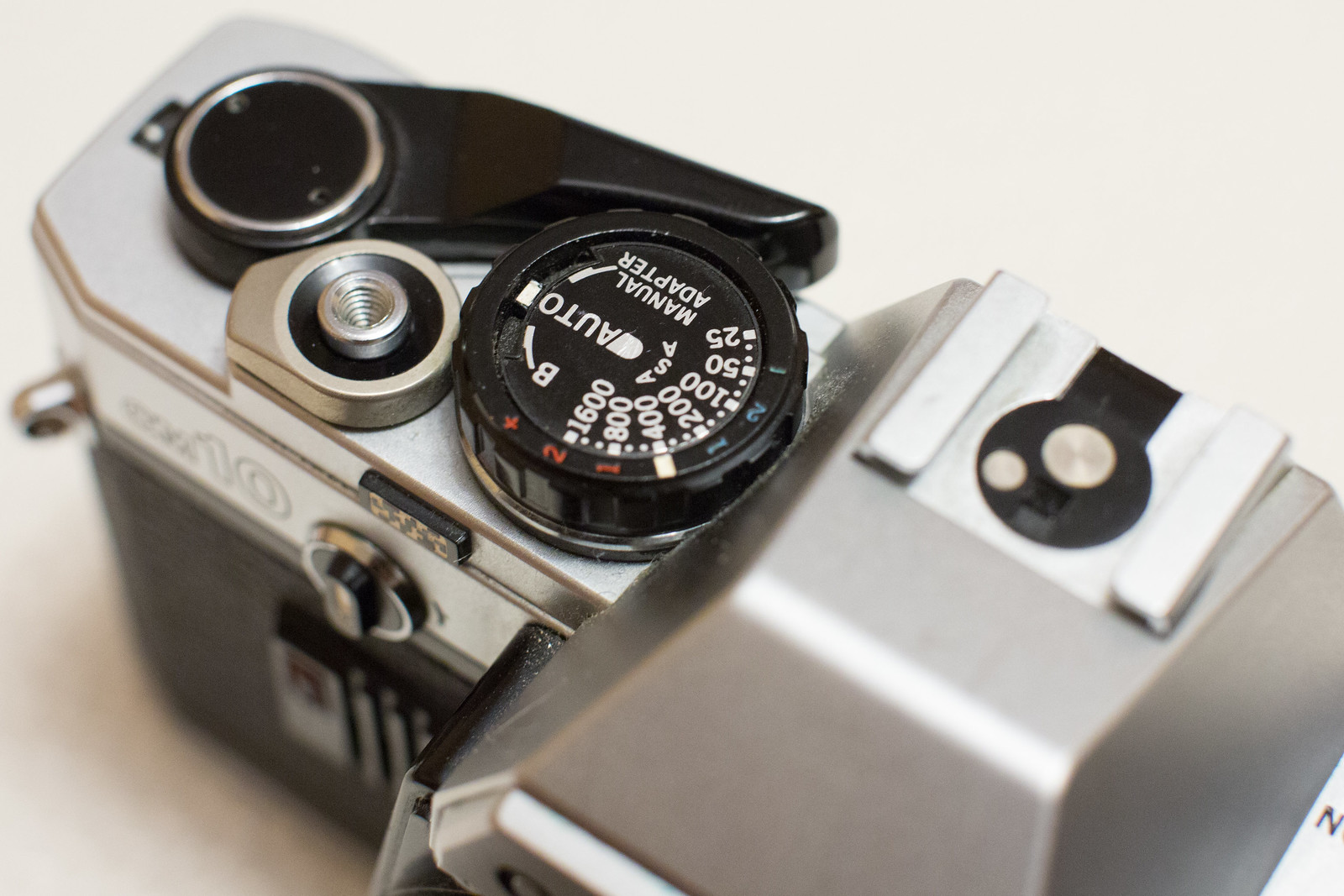 exposure compensation in manual mode