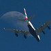 Airbus A380 Over SFO by photo101