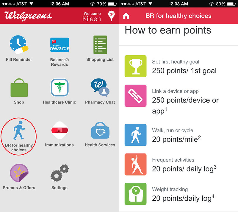 cute & little blog | walgreens balance healthy rewards smartphone app #RewardHealthyChoices