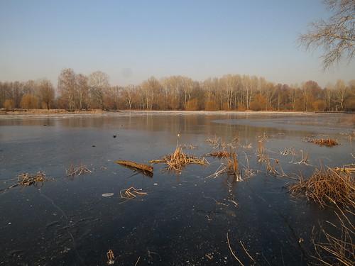 vekeritó debrecen winter ice lake frozen hiking outdoors hungary