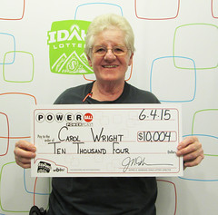 Carol Wright - $10,004 Powerball