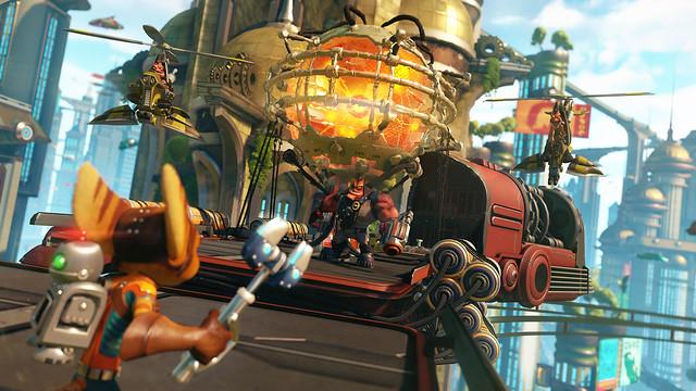 Дебютный трейлер Ratchet & Clank для PS4