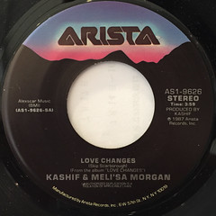 KASHIF & MELI'SA MANCHESTER:LOVE CHANGES(LABEL SIDE-A)