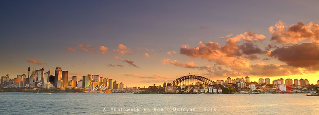 Cremorne - Burning Sunset